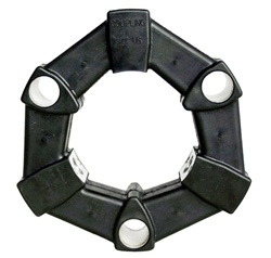 3 hole rubber coupling w