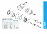Parts List Cat 12G,120G,130G etc