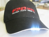 Hat with LEDs